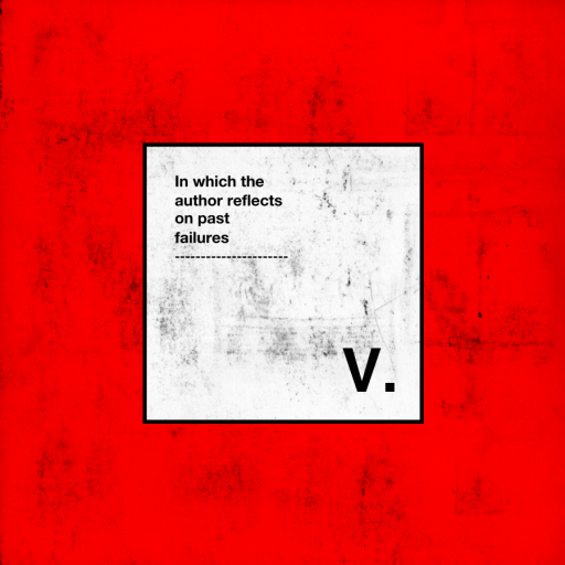 V reflection post poster